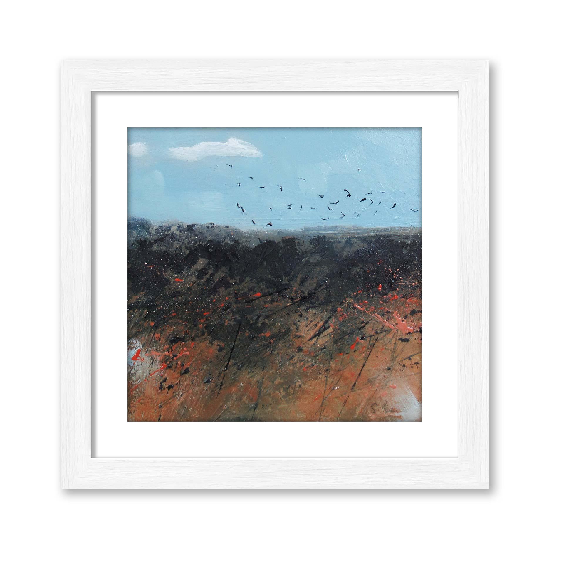 Birds over the Marsh - Oil Painting